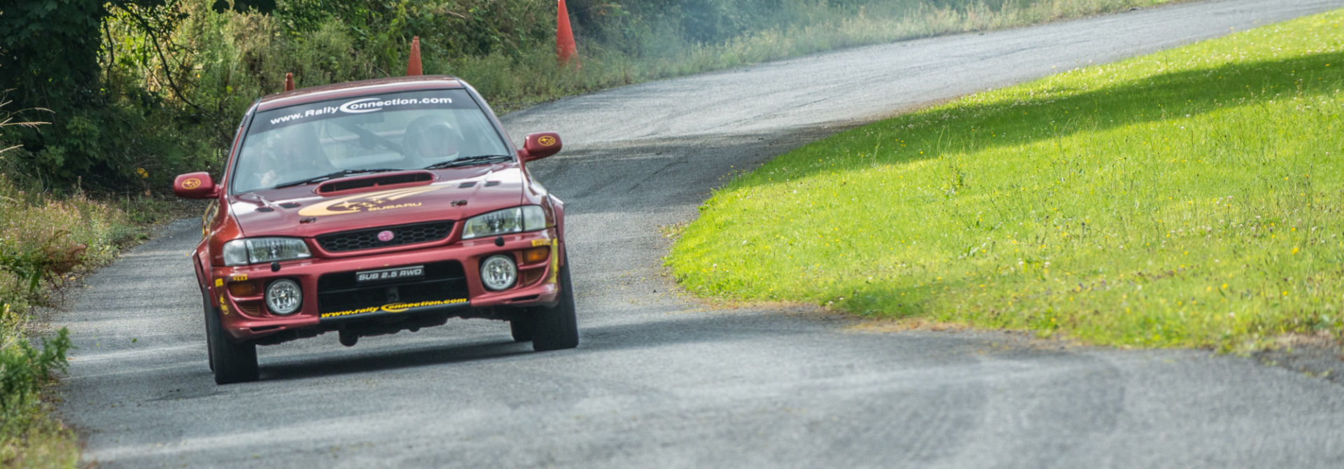 Tailored Rally Driving Packages